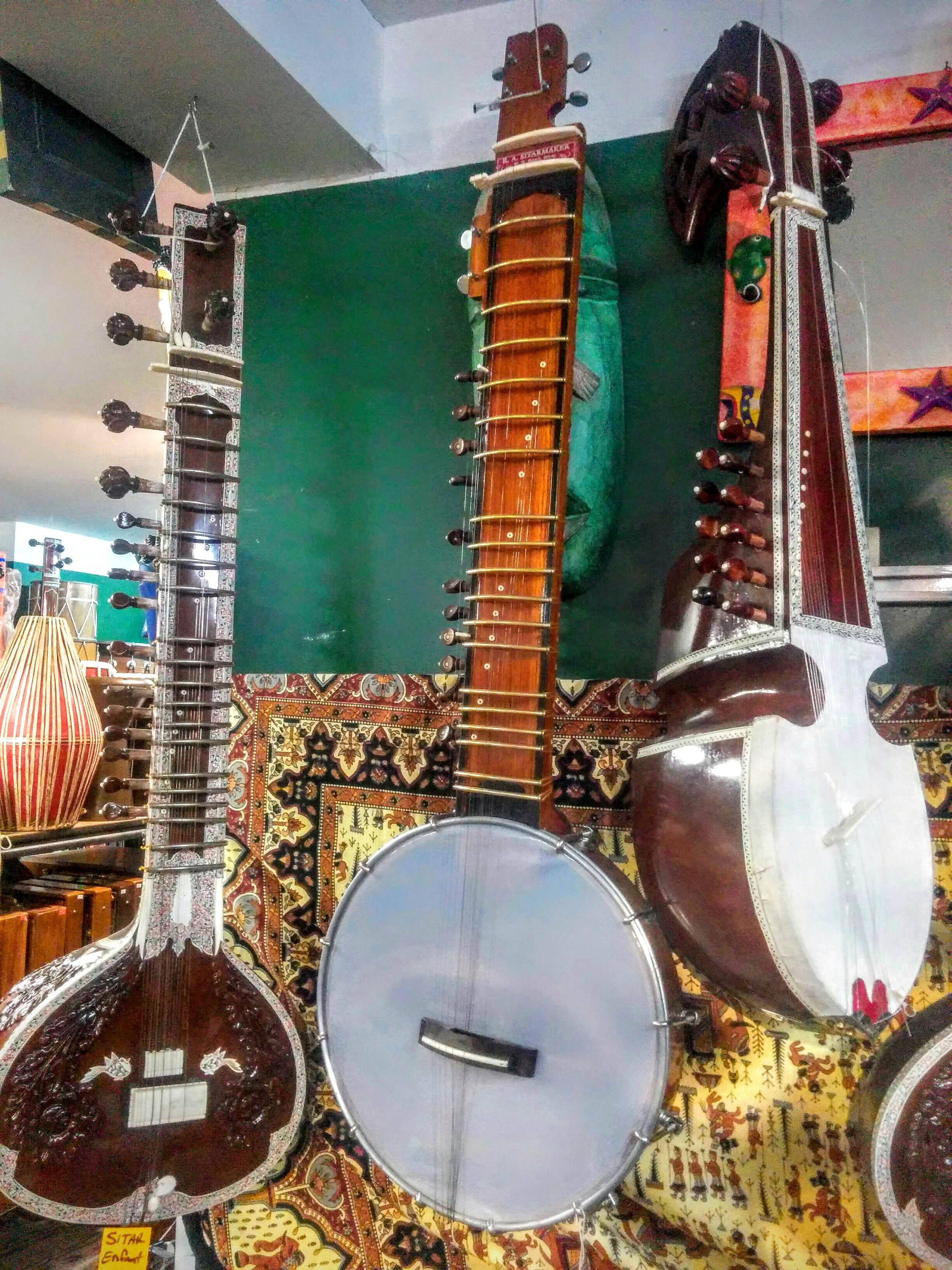 Sitar, Banjo Sitar, Rebab