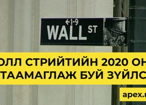 Волл Стрийтийн 2020 онд  таамаглаж буй зүйлс