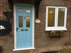 Merton Front Door and Window