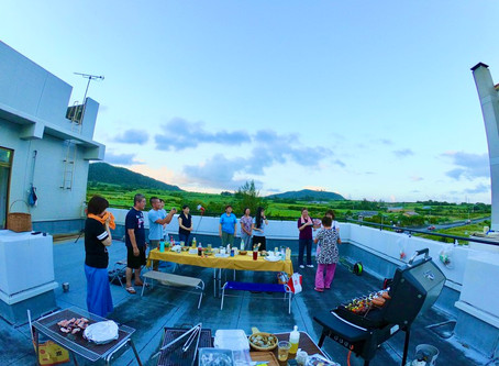 島っちゅ達の送別会BBQパーティ