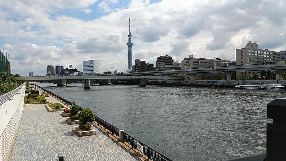 隅田川と東京スカイツリー(5月7日撮影)