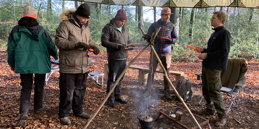 Bushcraft immersion day & camping