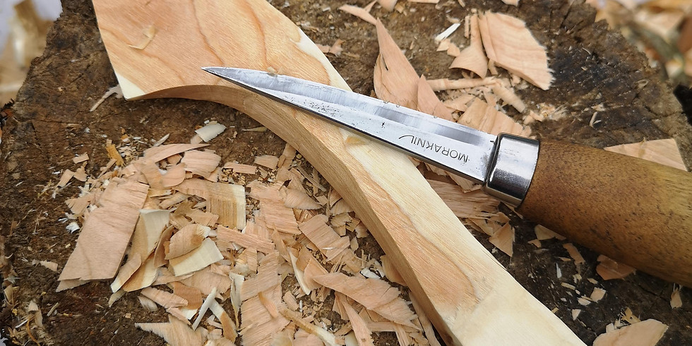 Wood carving for beginners: A Swedish butter knife