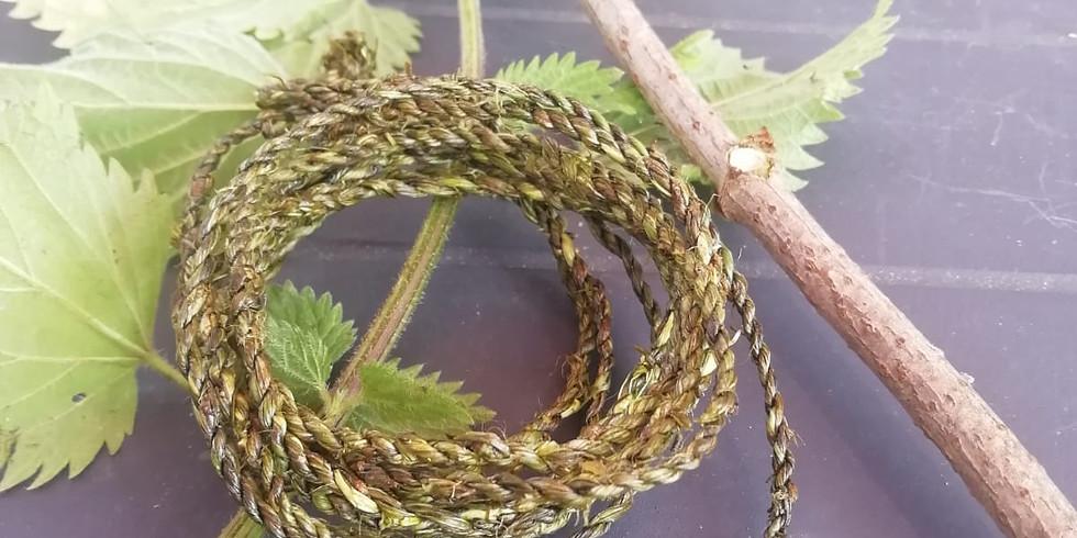 Make nettle bracelets and nettle soup