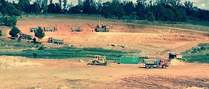 HRF Madagascar : Location pelle, bulldozer (bull) et camion benne à Antananarivo (Tana) , MADAGASCAR.