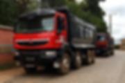 HRF Madagascar : Location de camions bennes à Antananarivo (Tana) , MADAGASCAR.