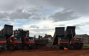 HRFMadagascar : Location de camion benne à Antananarivo (Tana) , MADAGASCAR.