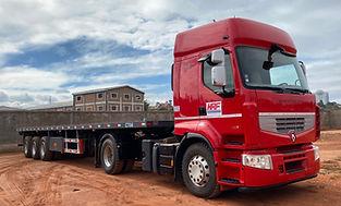 HRF Madagascar : Transport de marchandises (plateau) à Madagascar, Antananarivo (Tana)