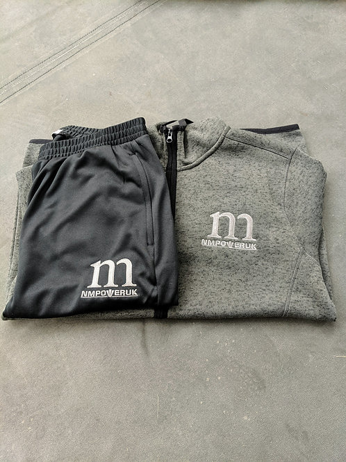 Hooded Tracksuits Dark Grey/Black