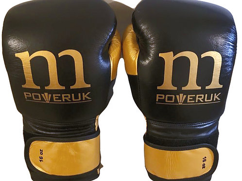 WHOLESALE Sparring Gloves (Black/Gold)