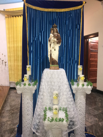 May: Month honor Our Lady