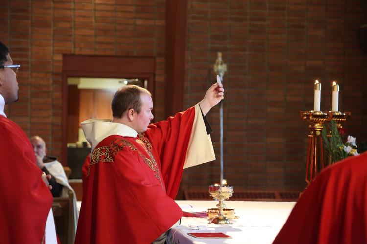Fr. Paul Richmond, O.Carm. First Mass