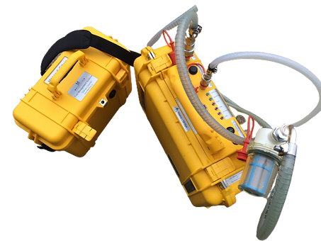 Diesel Duck is a diesel fuel dewatering & polishing unit, portable, fully automatic, & self-contained. Simple to use quick release fuel hoses (supplied). Simply carry on-board, connect & leave to work.