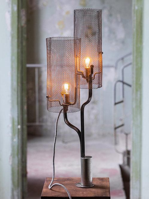 Mesh Barrrel Lamp No. 3-001