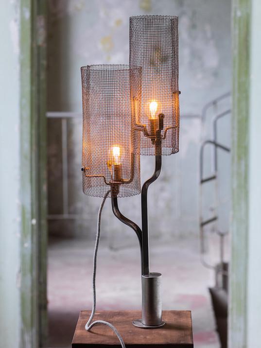 Mesh Barrel Lamps