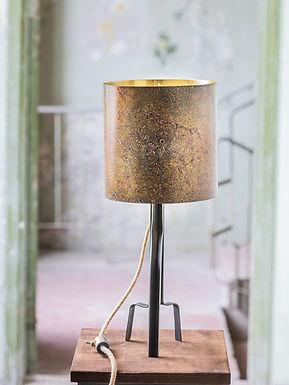 AMO Brass Lamp by Michael McCready