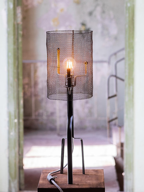 Mesh Barrrel Lamp No. 2-001