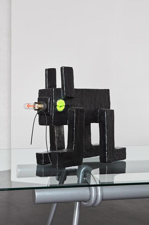 Dog Lamp by Tessa Koot
