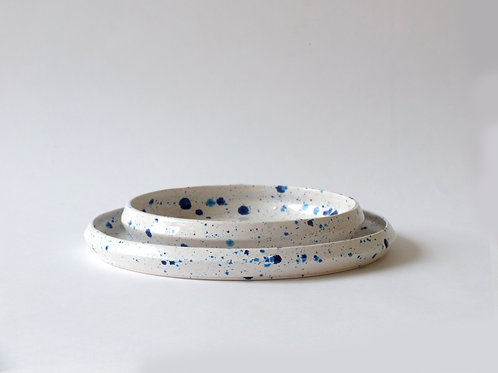 Dotted Plates by Lorena Miguel