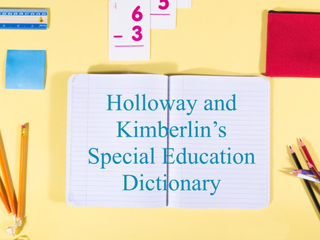 Special Education Terms to Know