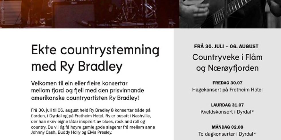 Ry Bradley Band in Øya Maritim