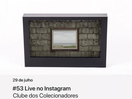 Live com Thomaz Pacheco - Oma Galeria