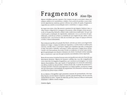 Fragmentos, por Coletivo Ágata