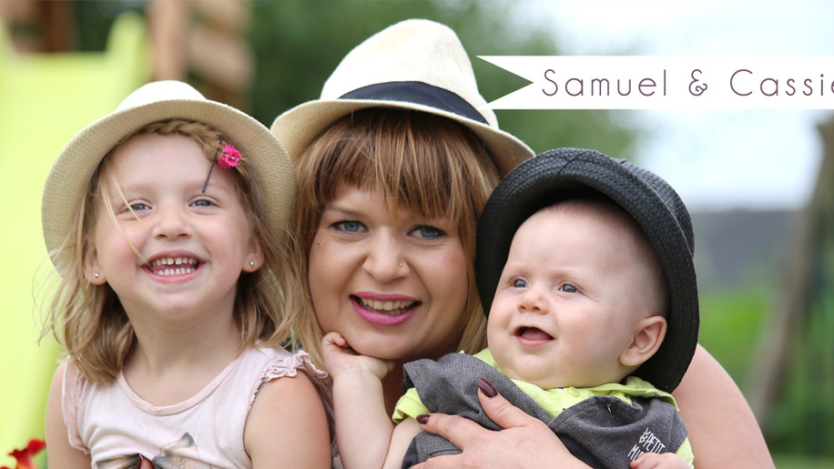 Séance Famille avec Samuel & Cassie