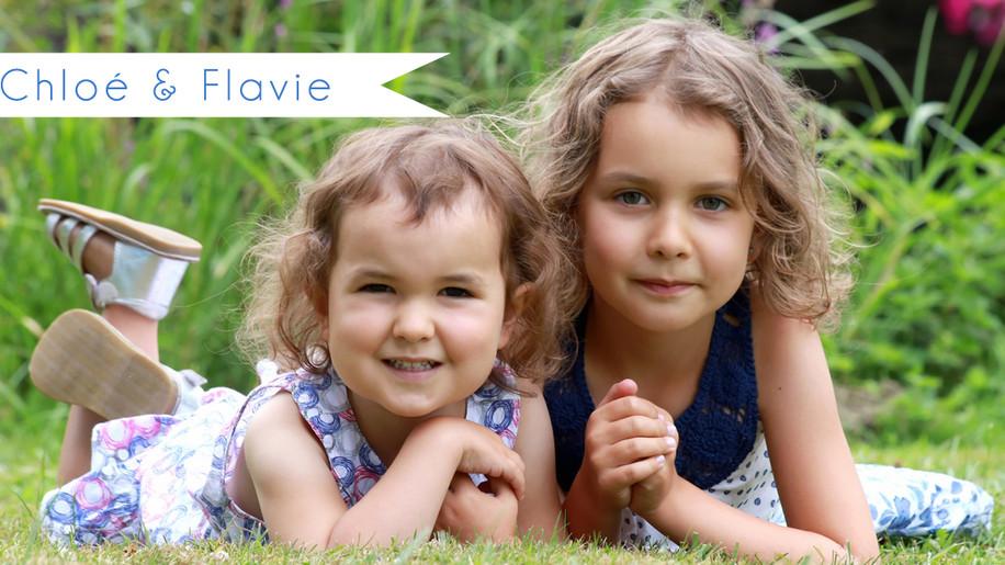 Séance Famille avec Chloé et Flavie
