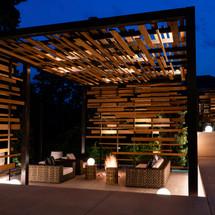 Japanese Tea House Steel and Ipe