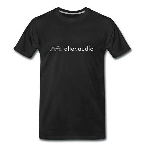 Men's T-shirt alter.audio Logo
