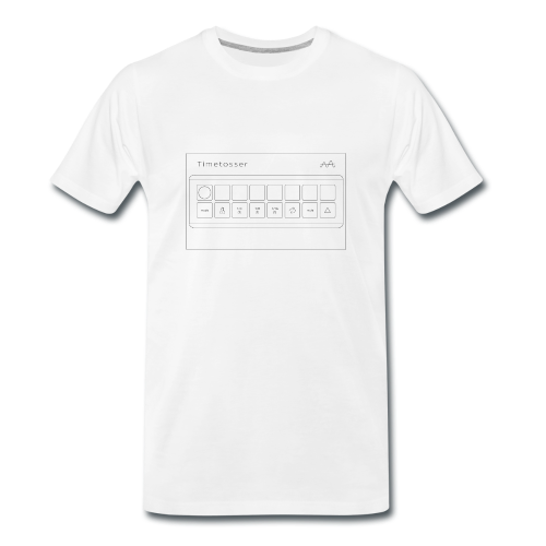 Men's T-shirt Timetosser Unit - White