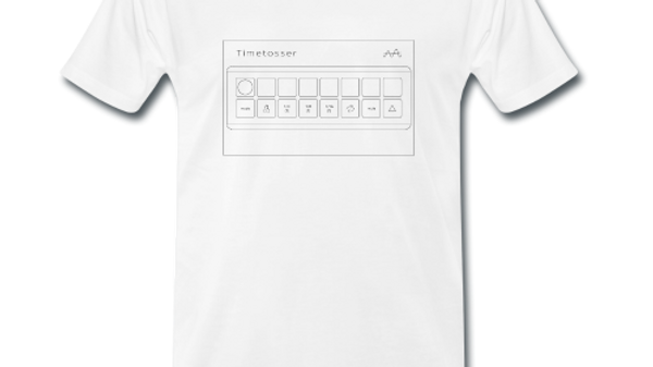 T-shirt Timetosser Unit White