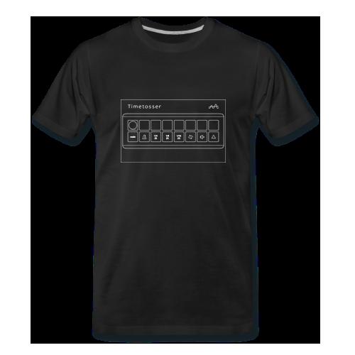Men's T-shirt Timetosser Unit - Black