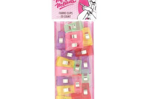 Nifty Notions Fabric Clips 20ct