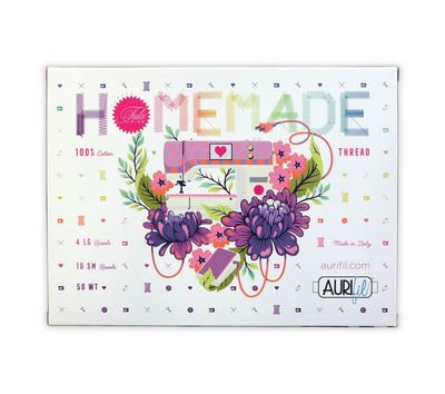 Homemade Aurifil Thread Collection by Tula Pink
