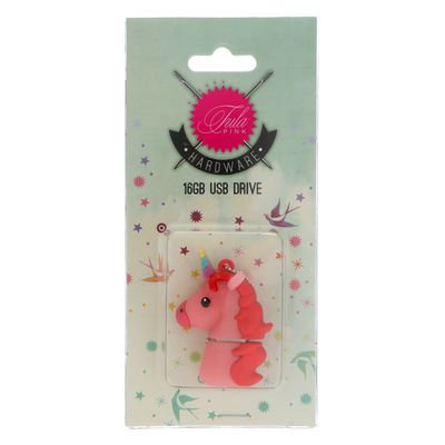 Tula Pink USB Unicorn PK 16 GB