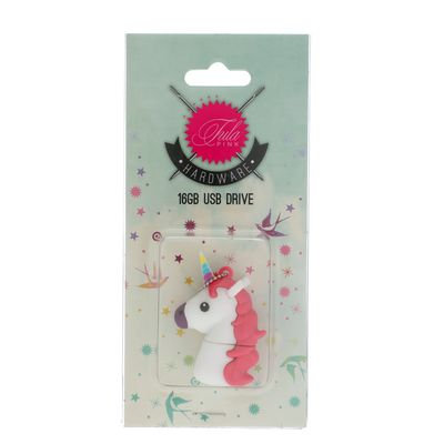 Tula Pink USB Unicorn WH 16 GB