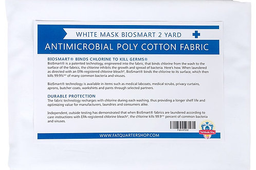 BioSmart Antimicrobial Cloth for Masks and Hospital Wear