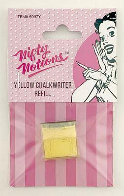 Nifty Notions Chalk Refill Yellow Chalkwrite
