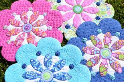 Plumeria Pattern by Amanda Murphy