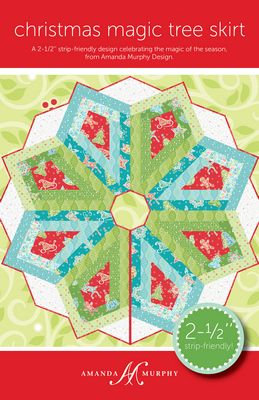 Christmas Magic Tree Skirt Pattern by Amanda Murphy
