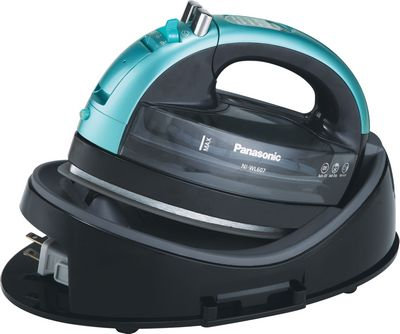 360 Cordless IronTeal Ceramic Sole Plate by Panasonic