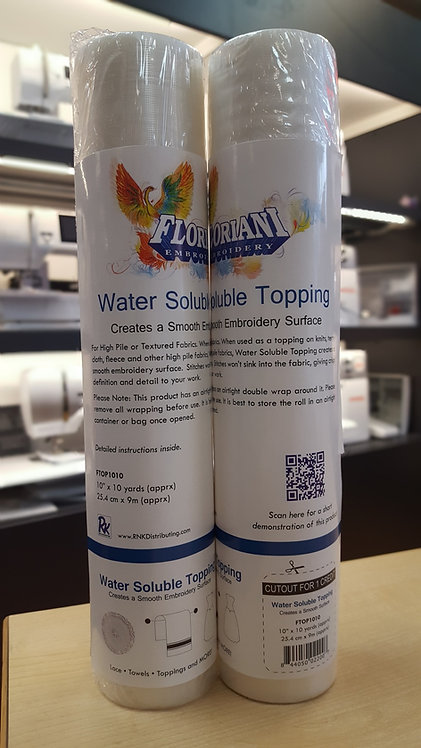 Floriani Water Soluble Topping