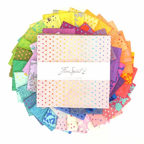 TULA PINK TRUE COLORS 10in x 10in  PACK