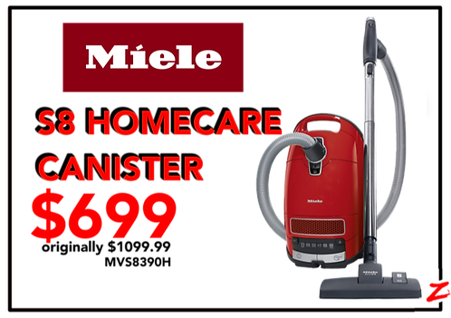 Miele S8 Homecare Canister