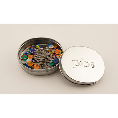 Nifty Notions Flower Head Pins 2in 100ct