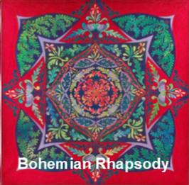 Bohemian Raphsody Ricky Tims quilt