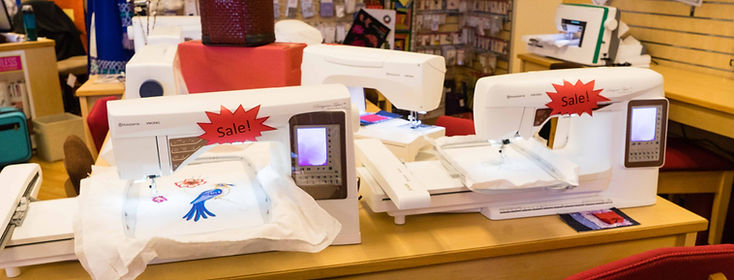 Sewing and embroidery machine Viking