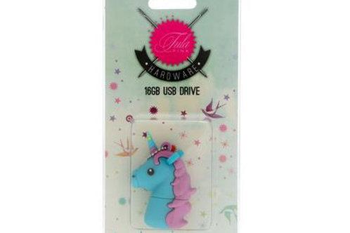 Tula Pink USB Unicorn BL 16 GB